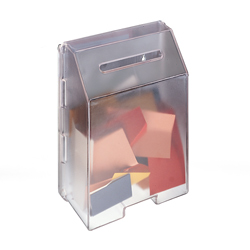 "8.5"" x 11"" Molded Ballot Boxes, Frosted"