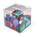 Deluxe Acrylic Ballot Box, Available in 2 Sizes