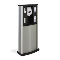 Series 900 Standard Infection Control Kiosk, Matte Finish