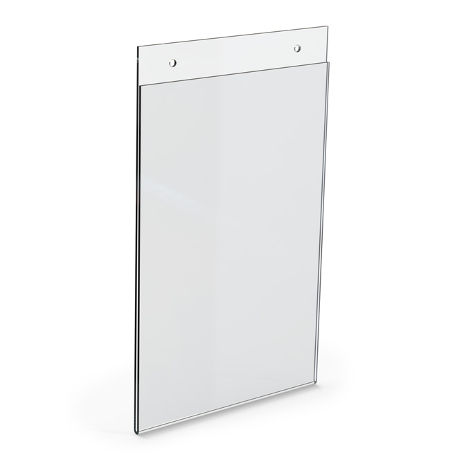 Top Loading Acrylic Wall Frame 6 X 9 Braeside Displays