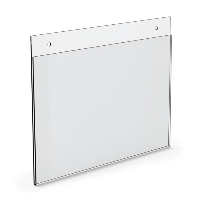 Top Loading Acrylic Wall Frame 9 X 6 Braeside Displays
