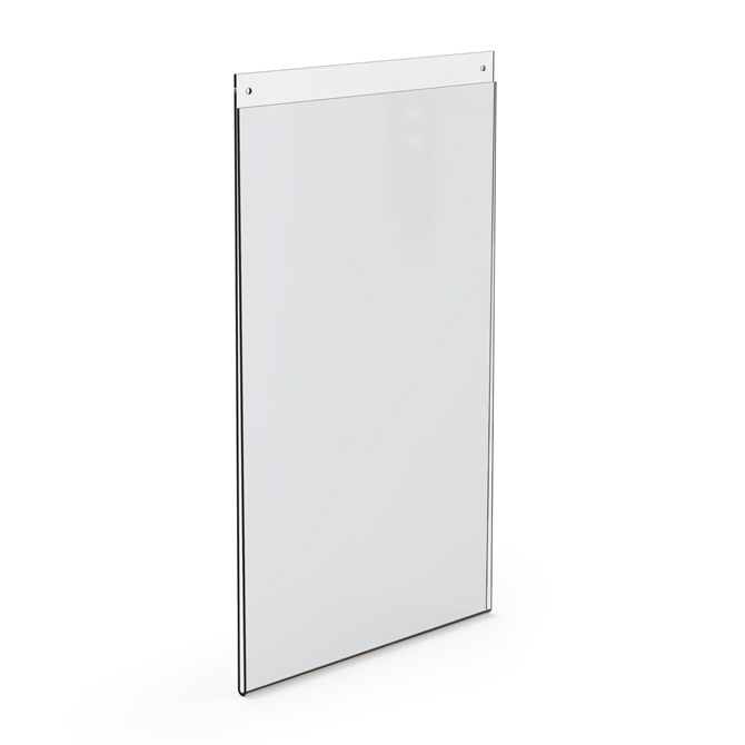 Top Loading Acrylic Wall Frame, 11 x 17 - Braeside Displays