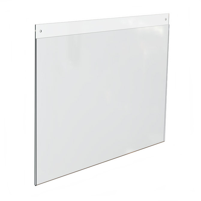 Top Loading Acrylic Wall Frame, 17 x 11 - Braeside Displays