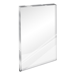 "Flush Top Acrylic Wall Sign Holder, 5"" x 7"""
