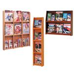 Full-View Wall Literature Racks