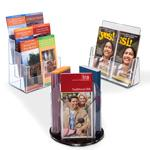 Multi-Pocket Brochure Holders