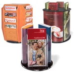 Rotating Literature Holders
