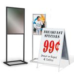 Sign & Poster Floor Stands