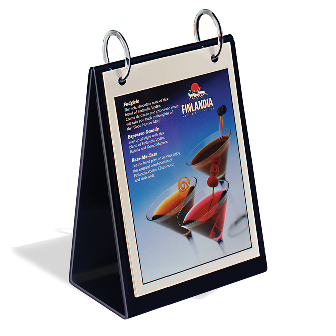 tabletop flip chart a style 8 1 2 x 11 braeside displays table