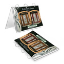 "Foldable Binder Display, 11"" x 8-1/2"""