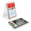"Foldable Binder Display, 8-1/2"" x 11"""
