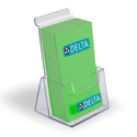 Slatwall/Counter Extra Deep Tri-fold Holder