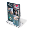 "8-1/2"" x 11"" Upright Sign/Brochure Holder Combo"
