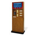 Preventionist Standard Five-In-One Infection Control Kiosk