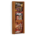 3 Pocket Slanted Magazine Wall Rack