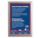 "11"" x 17"" Front Loading Snap-Tight Poster Frame, 1"" Profile"
