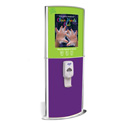 Pediatric Kiosk with Touch-Free Sanitizer