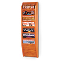 7 Pocket Magazine Wall Rack