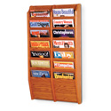 14 Pocket Magazine Wall Rack
