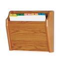 Single Pocket Wall Mount File and Chart Holder