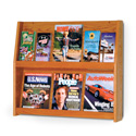 12 Pocket, 2 Shelf Literature Display