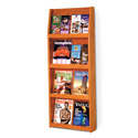 16 Pocket, 4 Shelf Literature Display