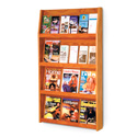 24 Pocket, 4 Shelf Literature Display