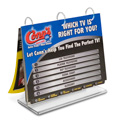 "Tabletop Flip Chart T-Style, 11"" x 8-1/2"""