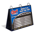 "Tabletop Flip Chart A-Style, 11"" x 8-1/2"""